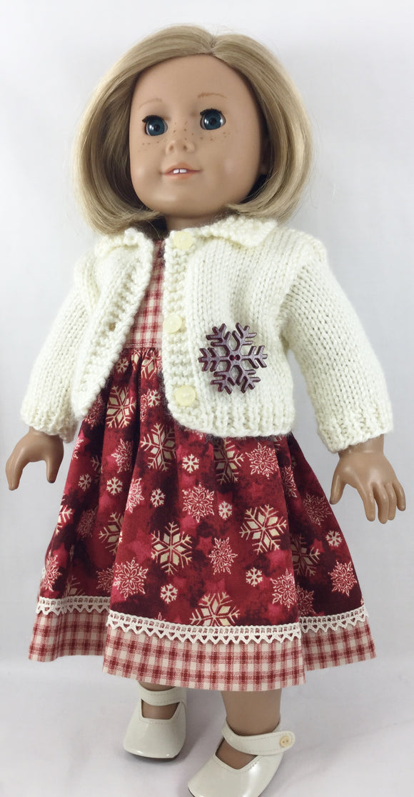 The Elizabeth Sweater and Dress Snowflakes