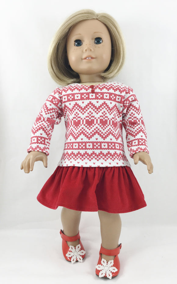The Cameron Set Fits American Girl 18