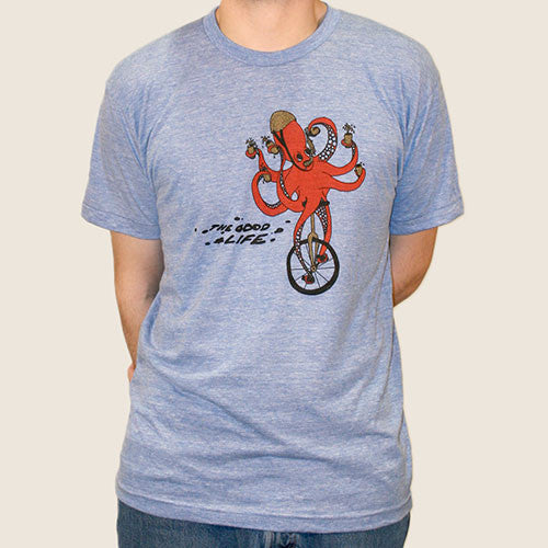Unicycle Octopus