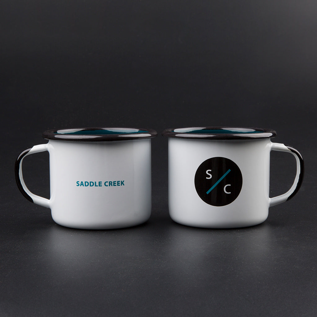 Saddle Creek Enamel Mug