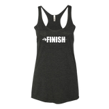 Women's Finish Attack Racerback T