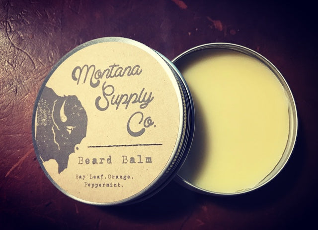 Bay Leaf, Orange, & Peppermint Beard Balm