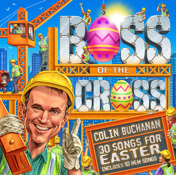 Boss Of The Cross CD,MP3 Album, Individual songs, Backing Tracks, Sheet Music Available