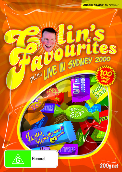 Colin's Favourites / Live in The Big Tent DVD,  Digital Download DVD and Individual Clips