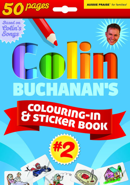 Colouring-in & Sticker books - Out of Print