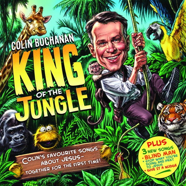 King of the Jungle CD, MP3 Album, Individual songs, Backing Tracks, Sheet Music Available