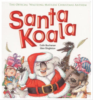Santa Koala MP3 Song and Backing Track (from the Santa Koala book)