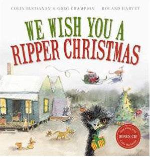 We Wish You a Ripper Christmas Hard Cover Book + CD