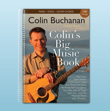Colin's Big Music Book - Out of Print but available in download digital format