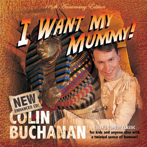 I Want My Mummy CD, MP3 Album, Individual songs, Backing Tracks, Sheet Music Available