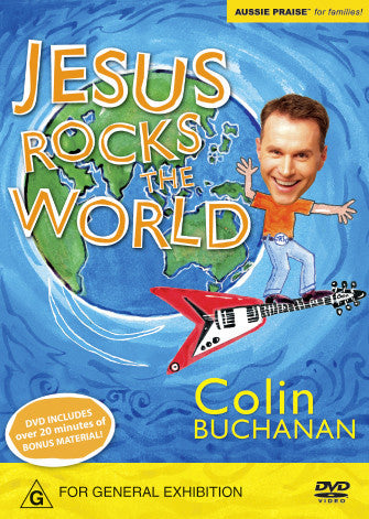 Jesus Rocks The World DVD, Digital Download DVD and Individual Clips