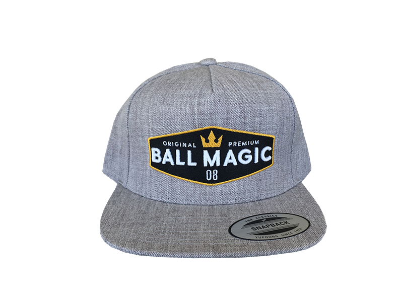 Snapback - BMG Grey 8 Ball