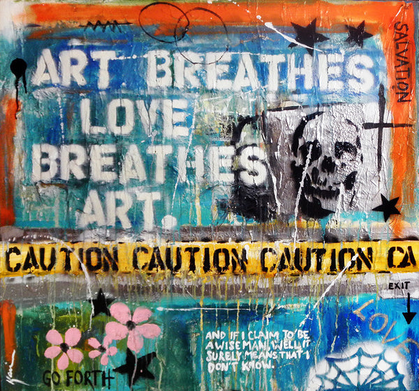 Art Breathes Love...