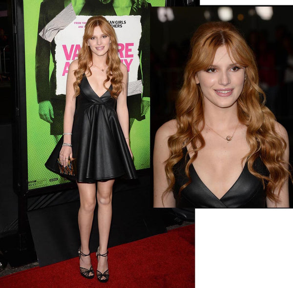 "Bella Thorne at the LA premiere  of ""Vampire Academy"""
