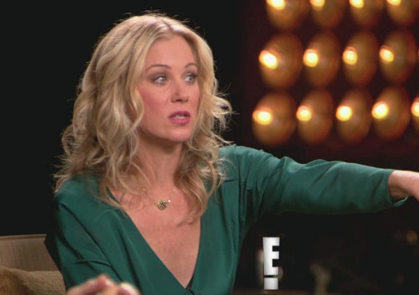 "Christina Applegate promoting ""Anchorman 2"""