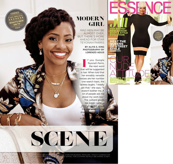 Teyonah Parrisin Essence Magazine