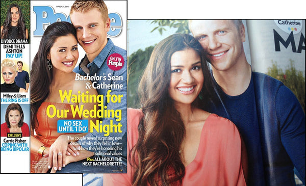 Catherine & Sean (The Bachelor),  in People Magazine