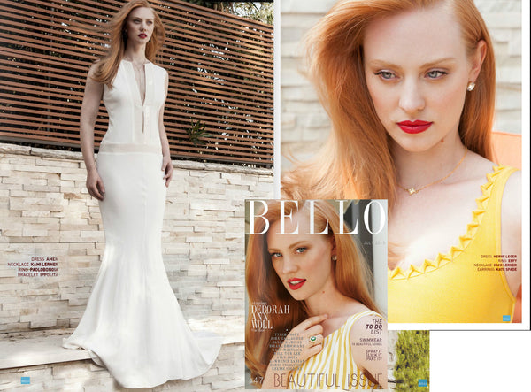 "Deborah Ann Woll (star of HBO's ""True Blood"") in Bello Magazine"