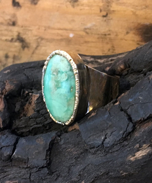 Chalcedony Adjustable Ring