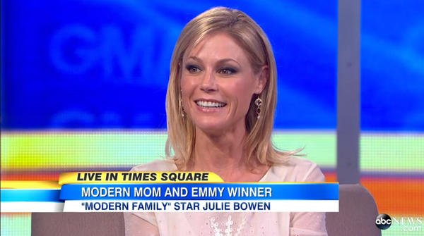 Julie Bowen on Good Morning America