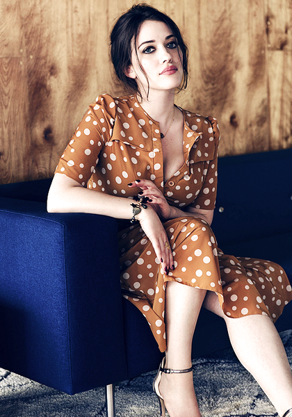 Kat Dennings in Zinc Magazine