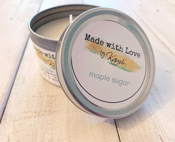 Maple Sugar Soy Candle