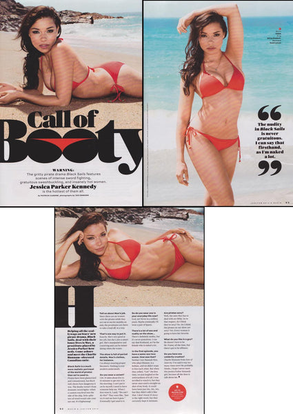 Black Sails actress, Jessica Parker Kennedy in Maxim Magazine