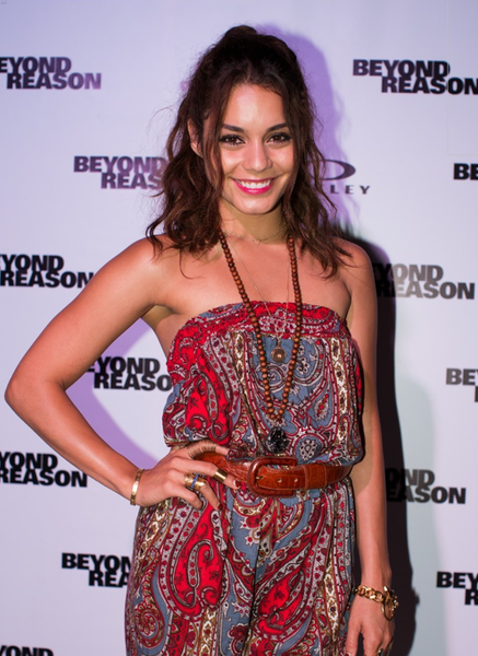 Vanessa Hudgens at Oakley's  Beyond Reason presentation