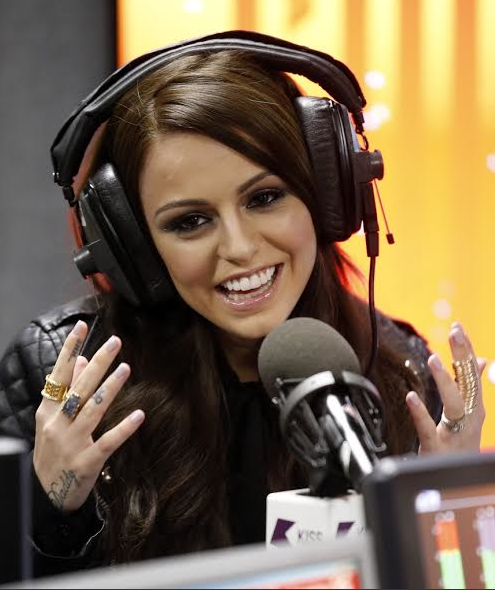 Cher Lloyd at KISS FM