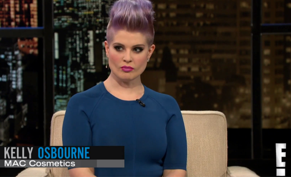 Kelly Osbourne on Chelsea Lately