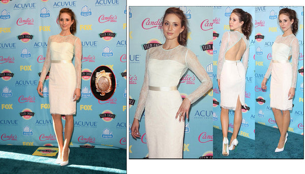 Troian Bellisario at the Teen Choice Awards