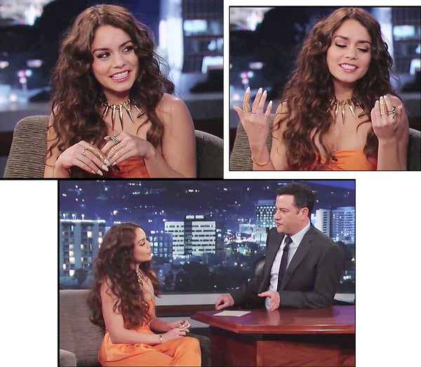 Vanessa Hudgens on Jimmy Kimmel