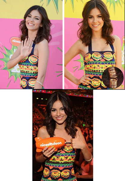 Victoria Justice at Nickelodeon's Kids Choice Awards.