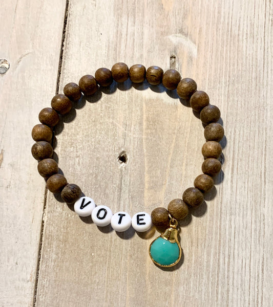 VOTE Sandalwood Bracelets