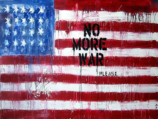 No More War. Please.