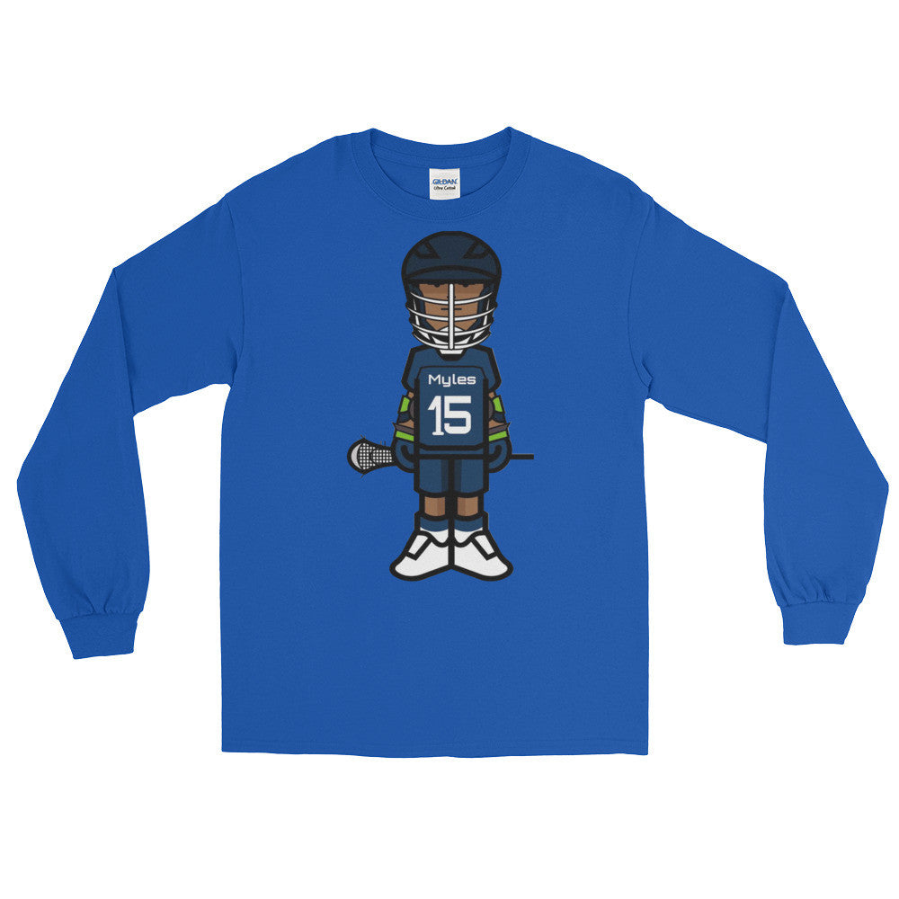 Chesapeake Bayhawks Little Myles Long Sleeve T-Shirt