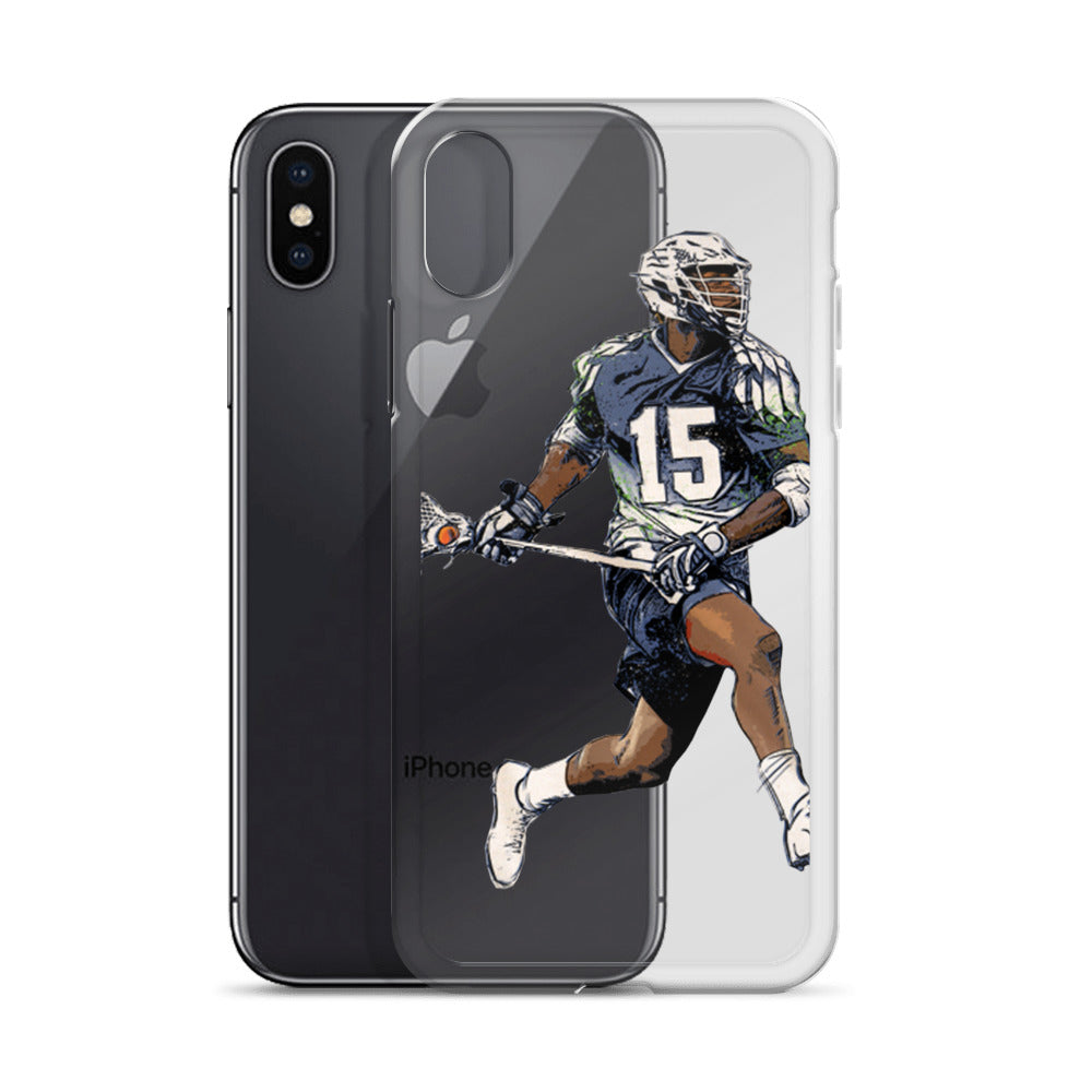 Chesapeke Bayhawks #15 Myles Jones iPhone X Case