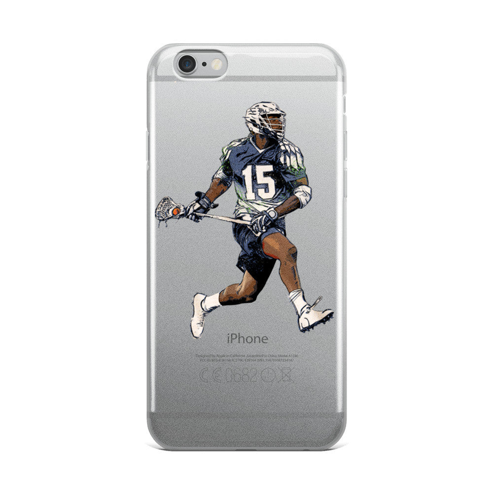 Myles Jones iPhone 5/5s/Se, 6/6s, 6/6s Plus Case