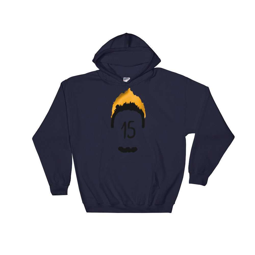 Myles Jones Mind On Fire Hooded Sweatshirt