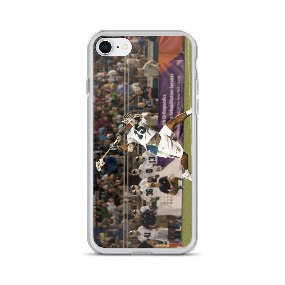 Chesapeake Bayhawks #15 Myles Jones iPhone Case