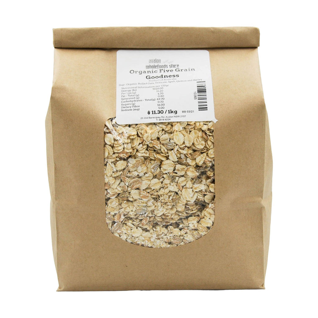 5 Grain Goodness 1kg - Avalon Wholefoods