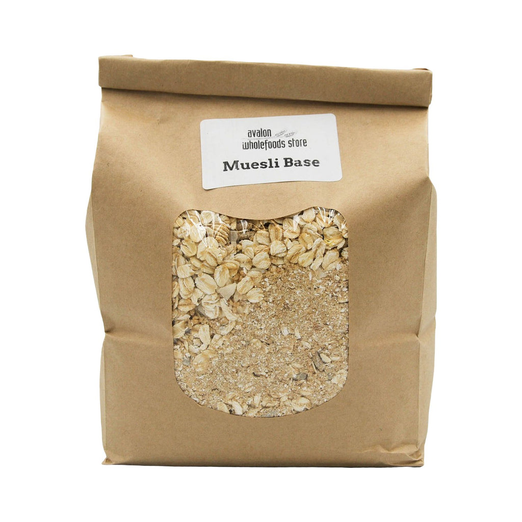 Muesli Base 1kg - Avalon Wholefoods