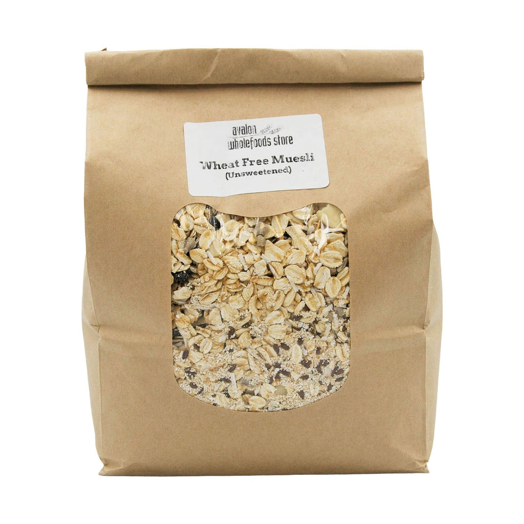 Muesli Wheat Free 1kg - Avalon Wholefoods