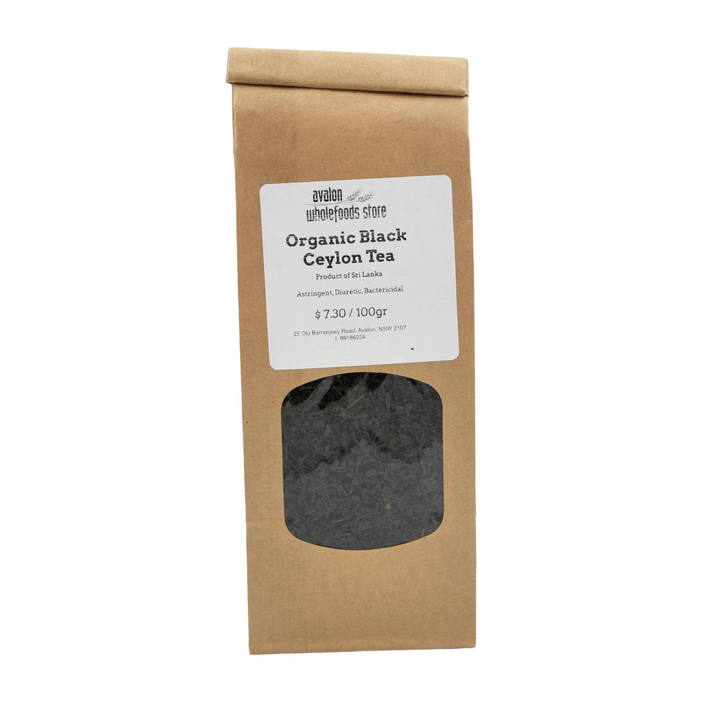Black Ceylon Tea 100g - Avalon Wholefoods Store
