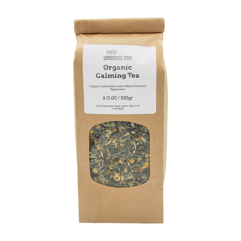 Calming Tea 100g - Avalon Wholefoods