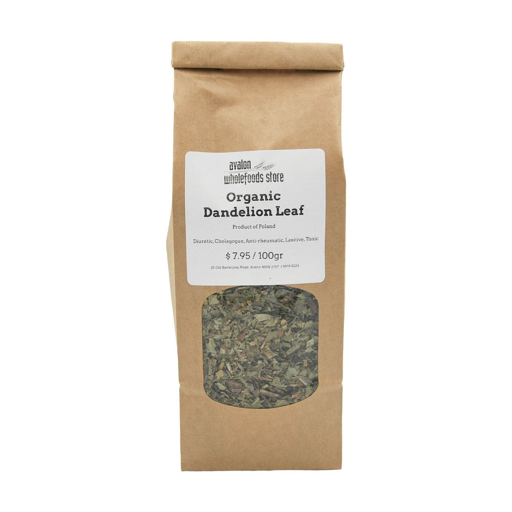 Dandelion Leaf Tea 100g - Avalon Wholefoods Store