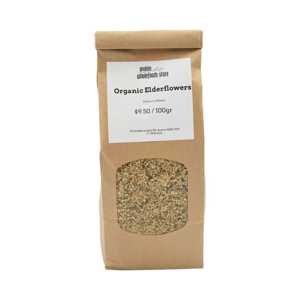 Elderflower Tea 100g - Avalon Wholefoods Store