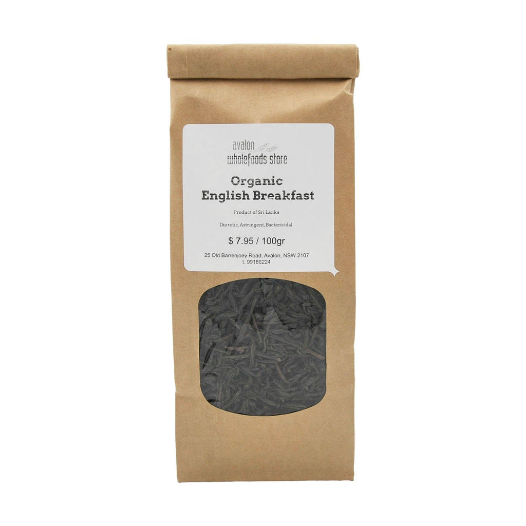 English Breakfast Tea 100g - Avalon Wholefoods Store