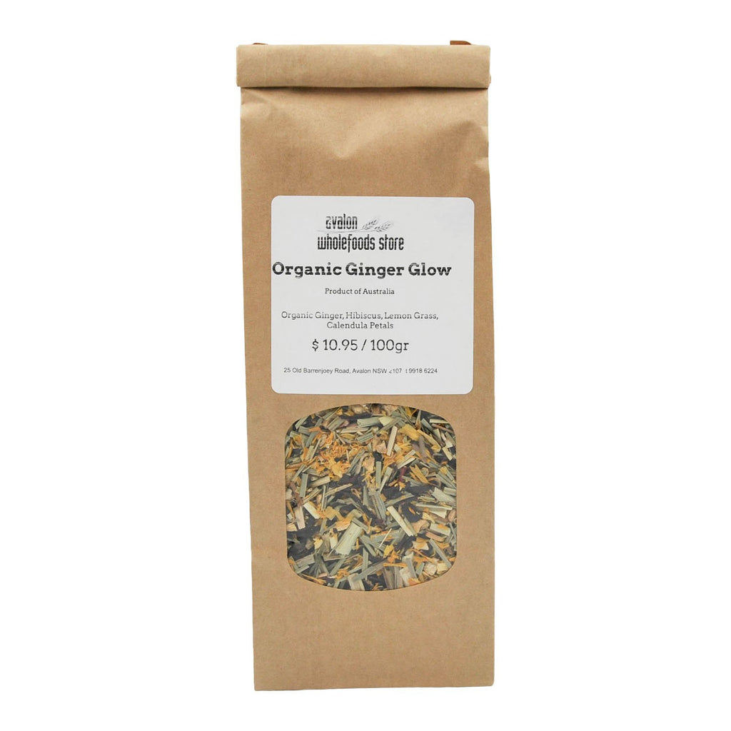 Ginger Glow Tea 100g - Avalon Wholefoods Store