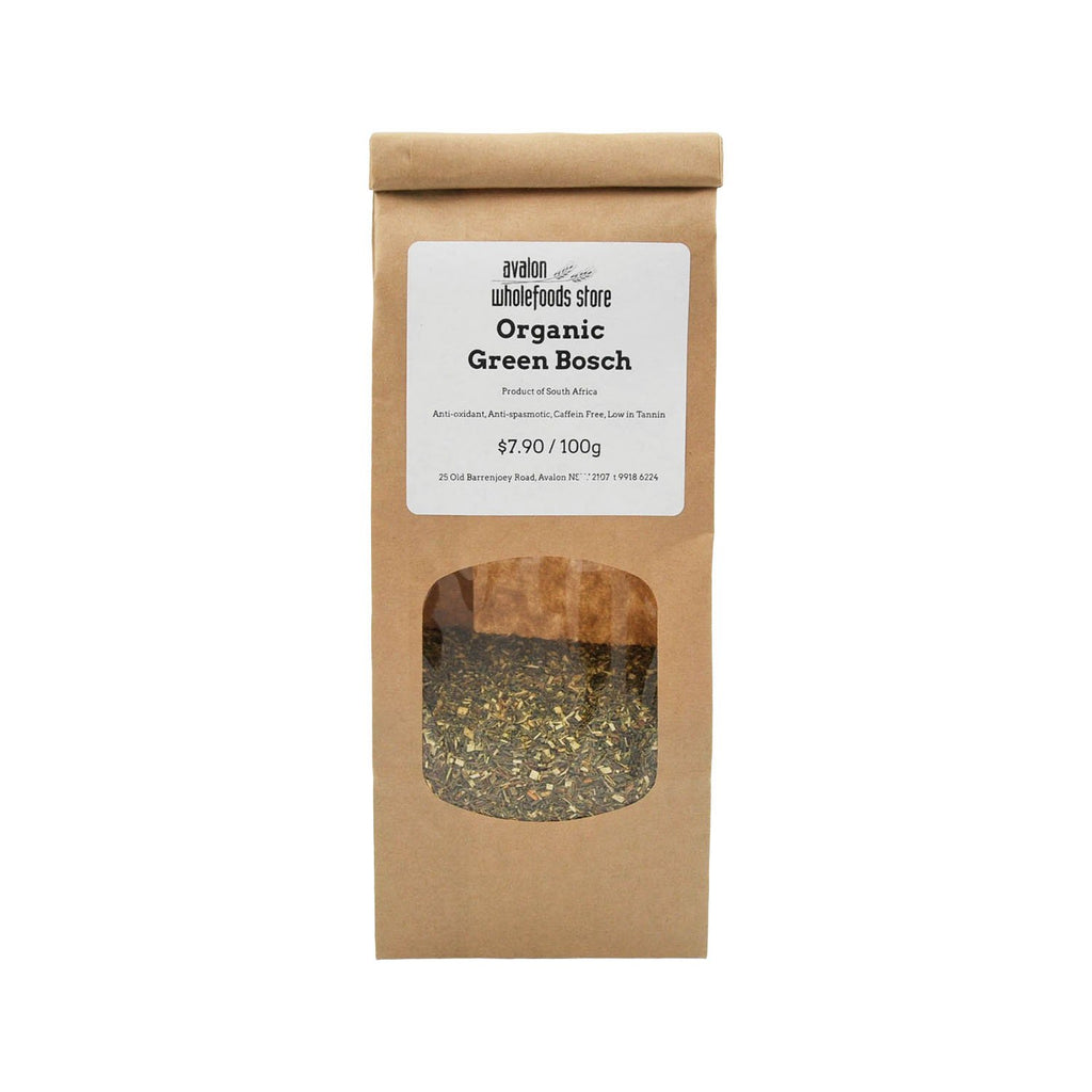 Green Bosch Tea 100g - Avalon Wholefoods Store
